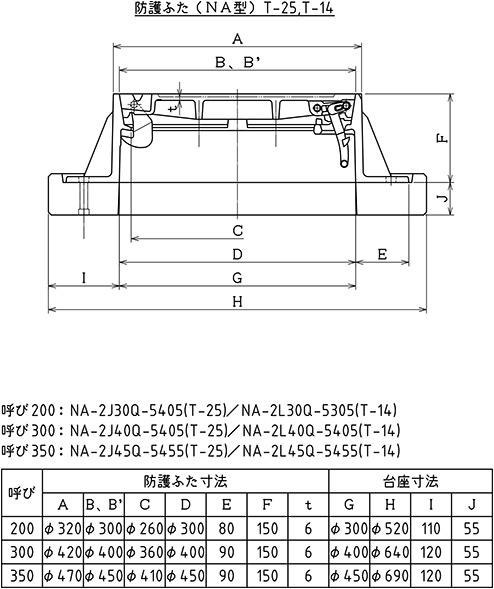 防護蓋NA(T-25,T-14)