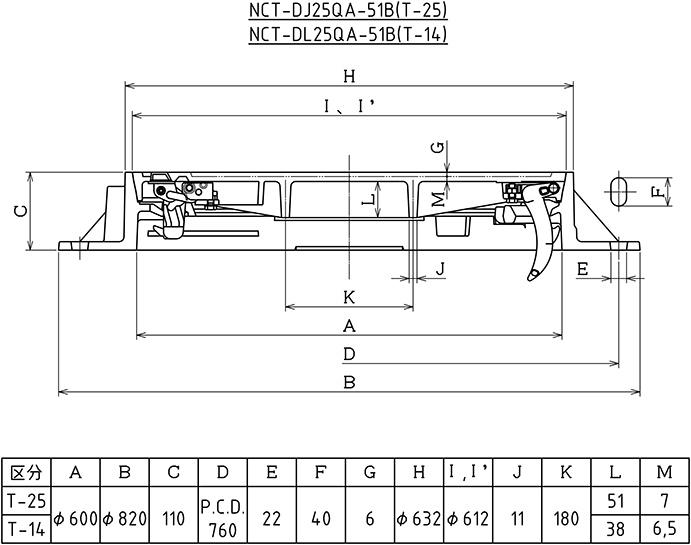 NCT-DJ25QA-51B